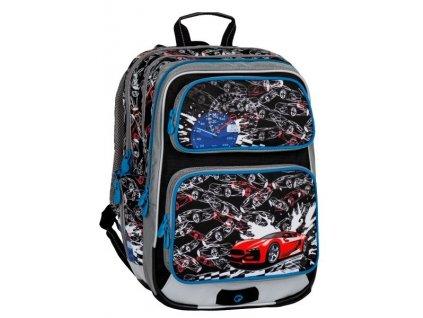 Školní batoh pro prvňáčky GALAXY 7 D BLACK/BLUE