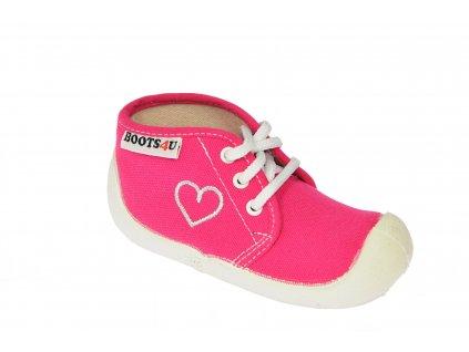 Boots4u teniska T015 růžová