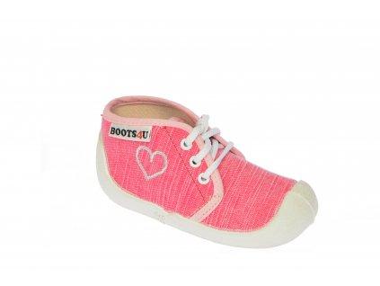 Boots4u teniska T015 pink