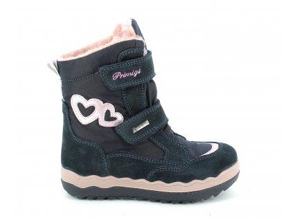 Zimní obuv Primigi 8382311 s GoreTex membránou