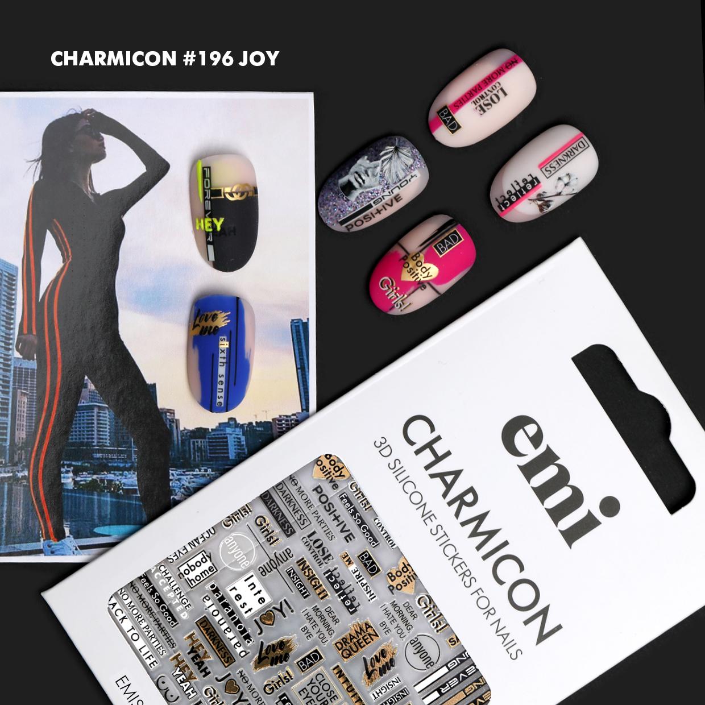 Charmicon 3D Silicone Stickers #189,190,191,193,196