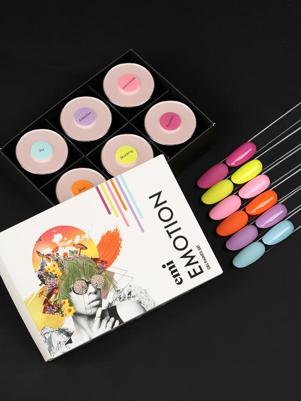 Limitovaná edice gelových barevEMOTION