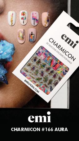 Charmicon 3D Silicone Stickers #166, 168, 169, 172, 174, 179, 180