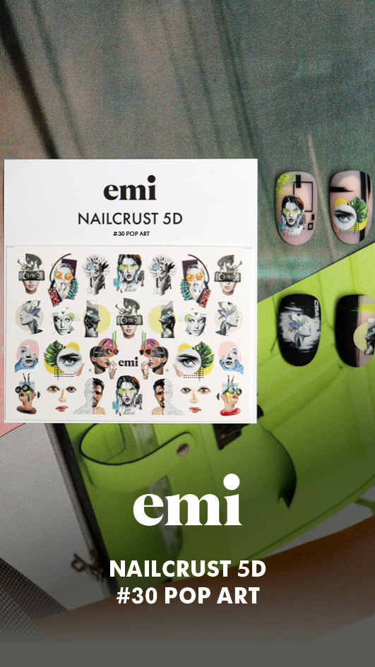 Nový Nailcrust 5D #25-30