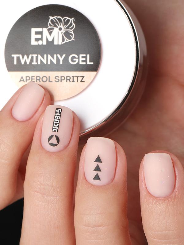 Twinny Hard Gel 15g -  2v1 modelační gel s barvou