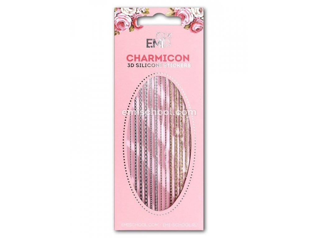 Charmicon 3D Silicone Stickers Chain #2