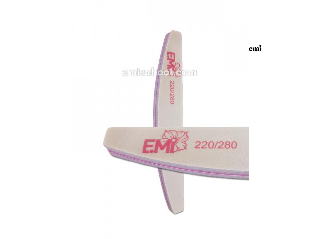Lešticí pilník Soft 220/280 na přírodní nehty