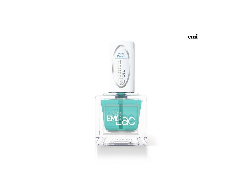 E.MiLac Cuticle Oil, Aqua Dream, 9 ml