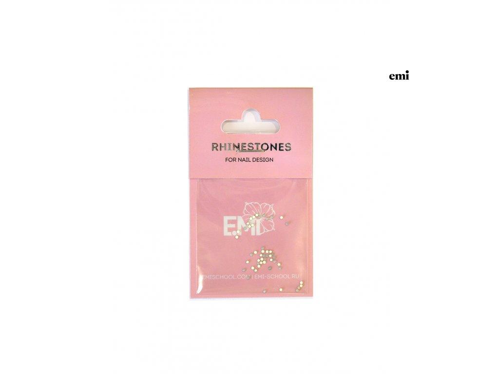 Rhinestones White Opal #3, 50 pcs