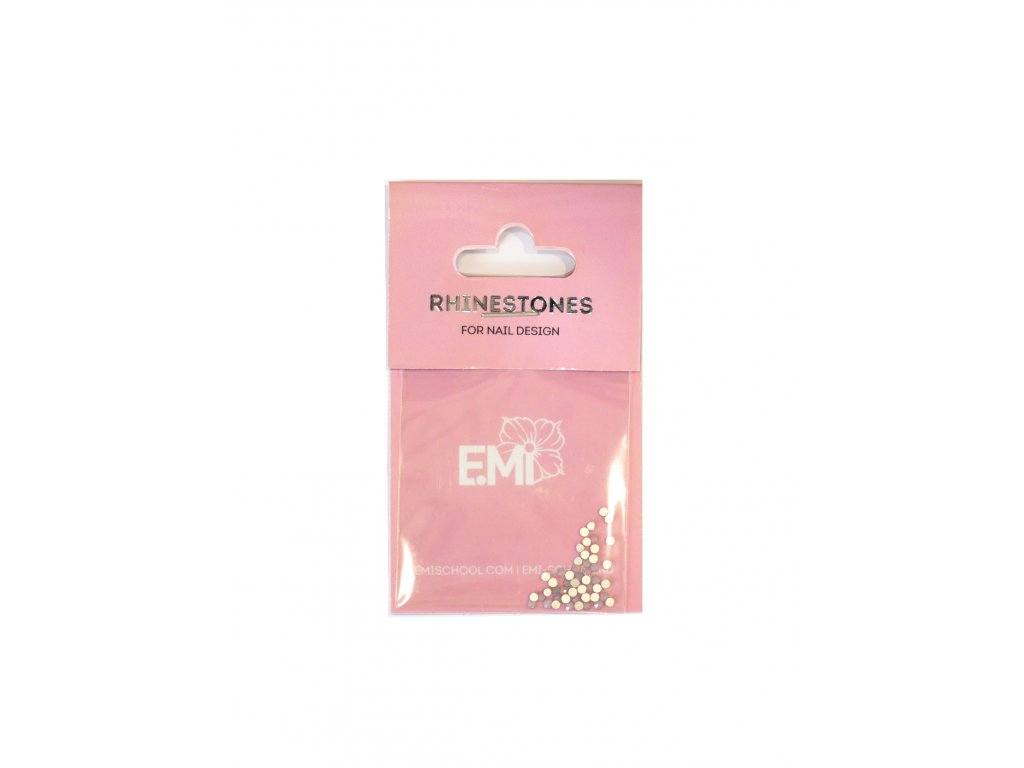 Rhinestones Light Pink #6, 50 pcs