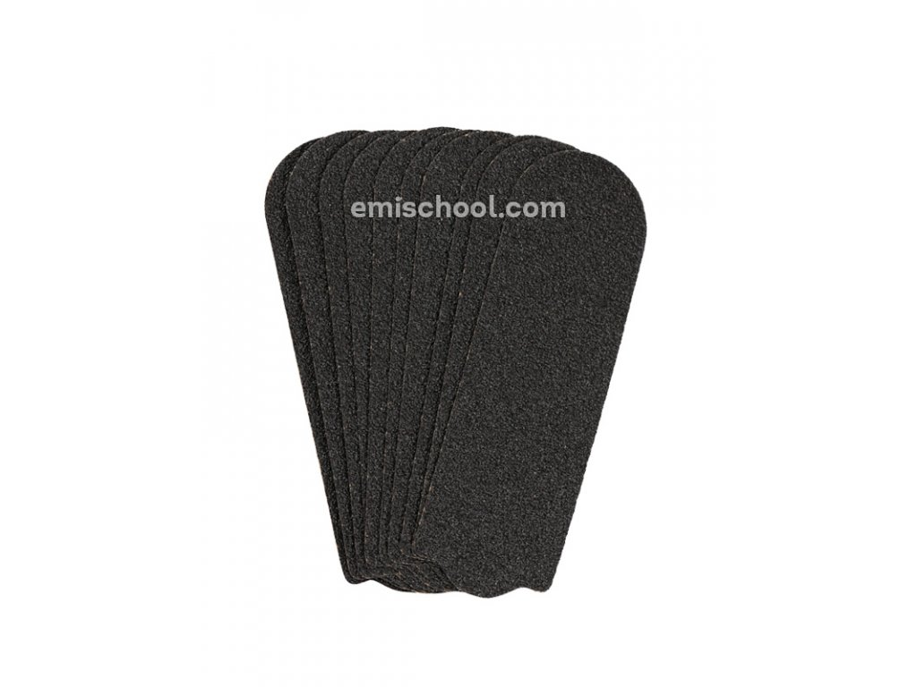 Výměnné pilníky na kovový základ 80 grit, 10 ks.