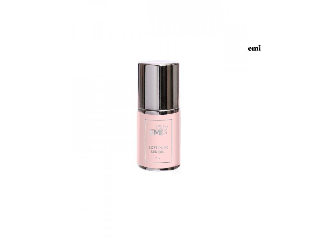 Soft Pink LED Gel, 15 ml