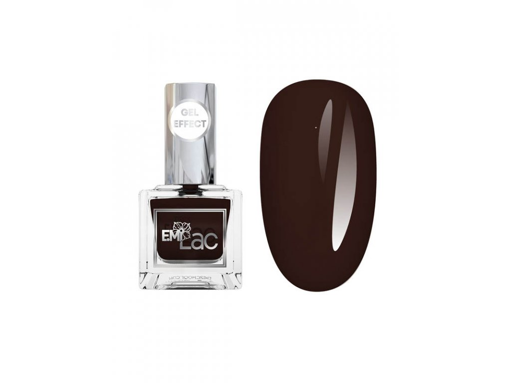E.MiLac Gel Effect NP Black Wood #125, 9 ml.