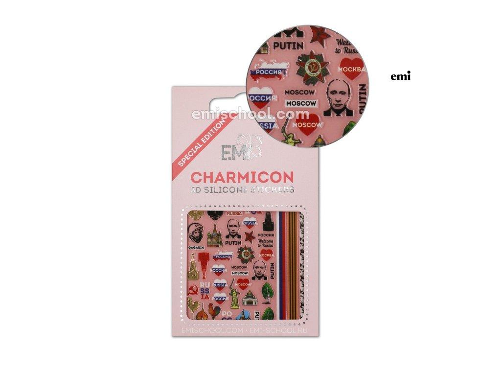 Charmicon 3D Silicone Stickers Russia 2
