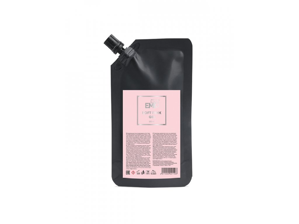 Soft Pink Gel in doypack with dispenser, 100 ml