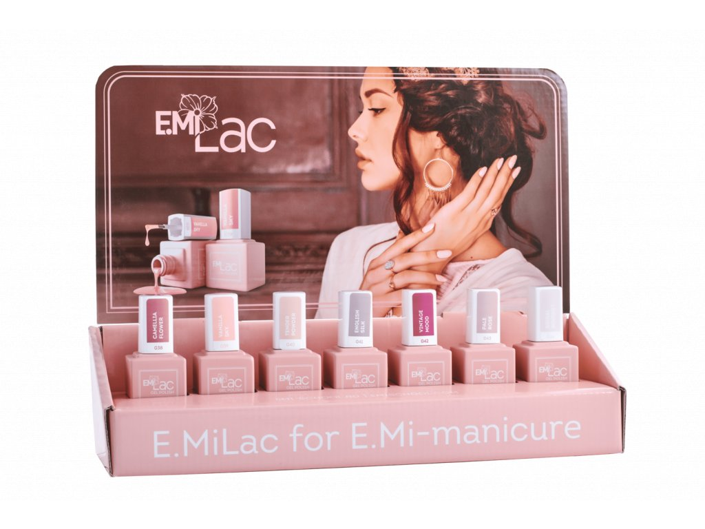Display E.MiLac Shades of Elegance