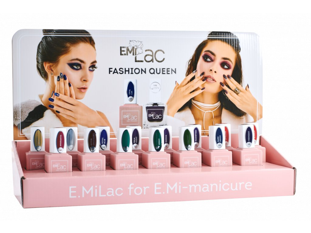 Display Ultra Strong and E.MiLac Fashion Queen