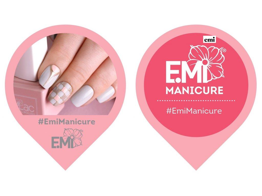 Label on door E.Mi manicure