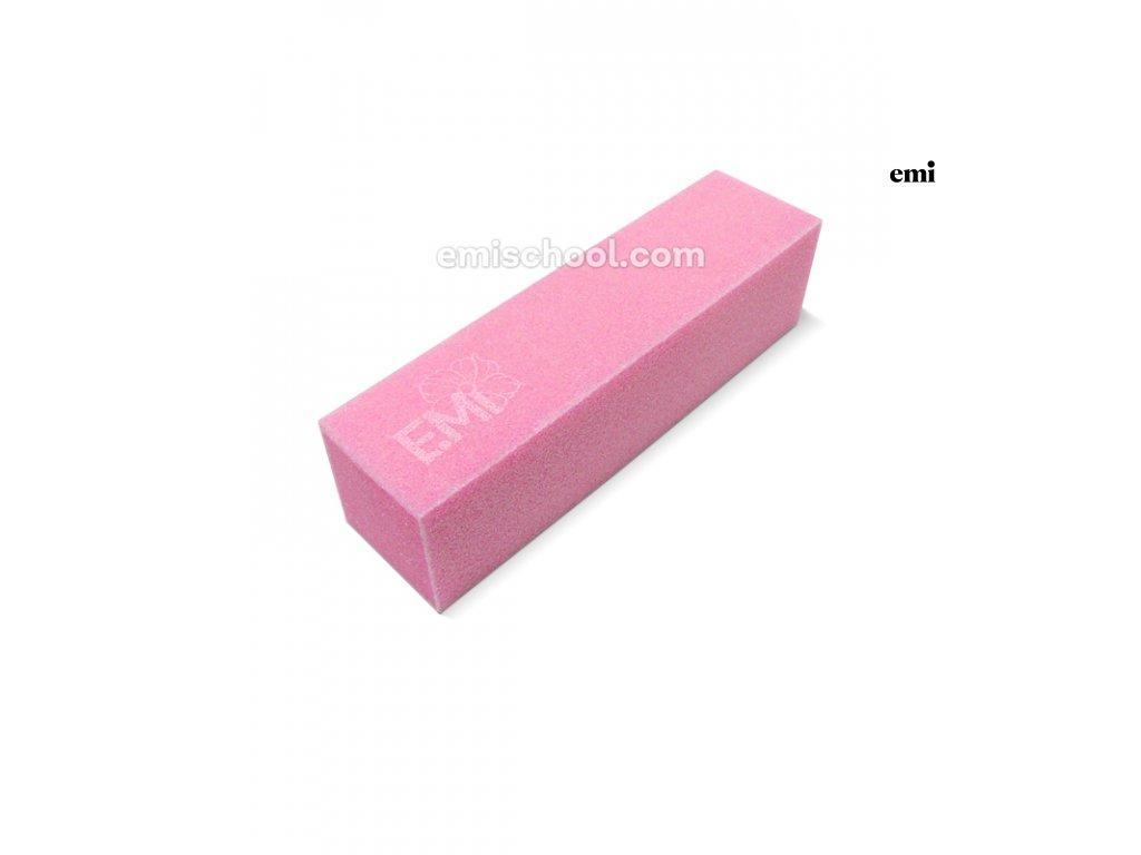 Pilník blok růžový E.Mi