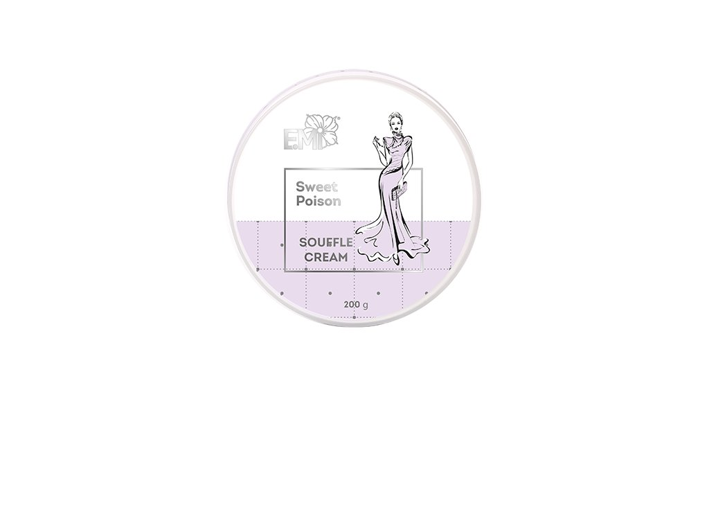 Hand and Body Cream Souffle Sweet Poison 200 g