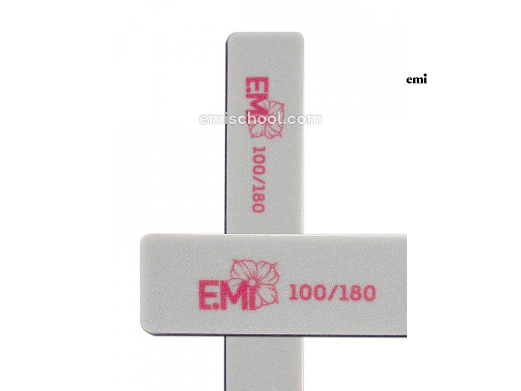 Leštící pilník Soft 100/180 na umělé nehty