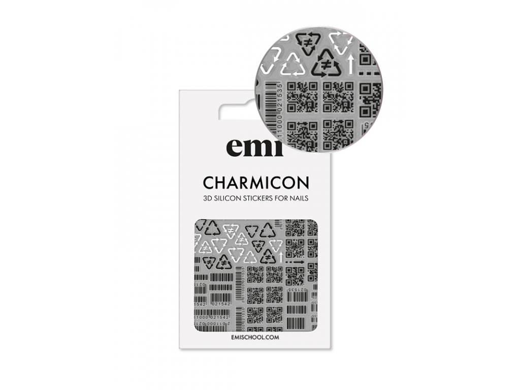 Charmicon 3D Silicone Stickers #175 Codes
