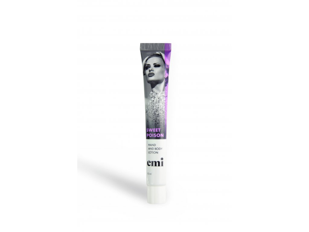 Hand and Body Lotion in tube, 10 ml Sweet Poison