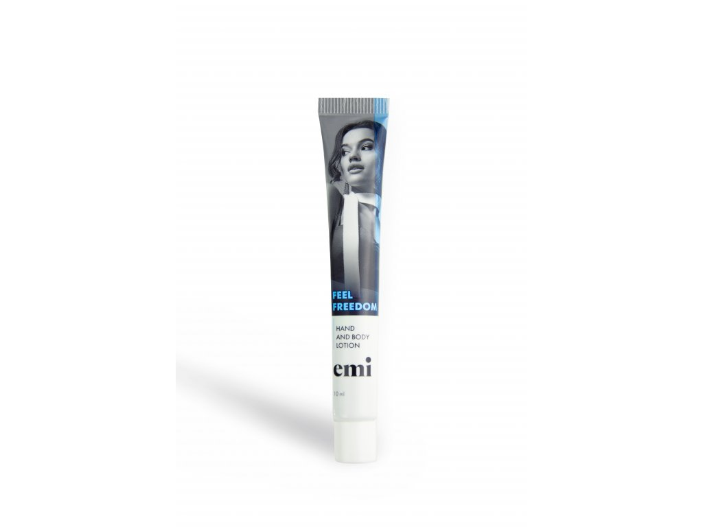 Hand and Body Lotion in tube, 10 ml Feel Freedom
