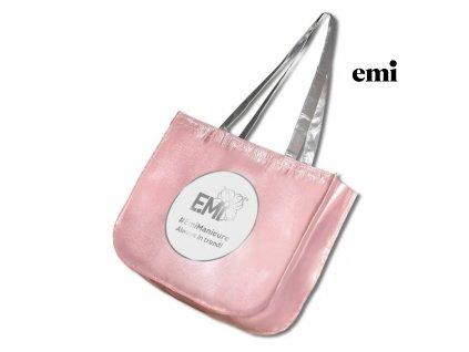 Zipper Shopping Bag with the E.Mi logo