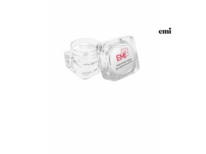 Akrylový pudr na opravu, zpevnění nehtů a nail art, 2,5 g.