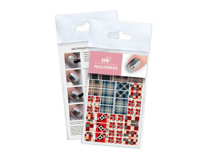 Naildress Slider Design #62 Buffalo & Tartan