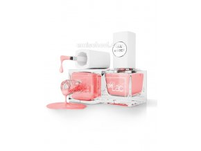 E.MiLac Gel Effect Strawberry Cream #019, 6 ml.