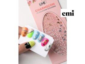 Charmicon 3D Silicone Stickers #47 Fish Gold/Silver