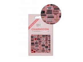 Charmicon 3D Silicone Stickers Czech 1