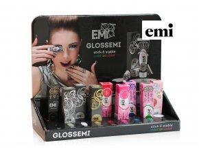 Display gelové barvy Glossemi