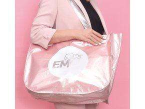 Zipper Shopping Bag with the E.Mi Logo