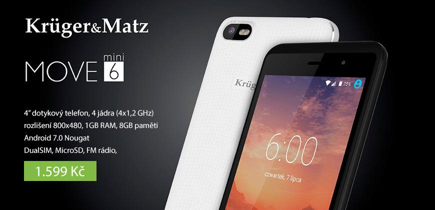 "MOBILNÍ TELEFON 4.0"" KRUGER&MATZ MOVE MINI"