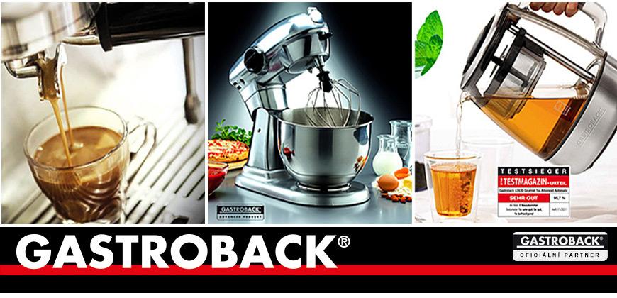 Gastroback - německá kvalita domácích spotřebičů