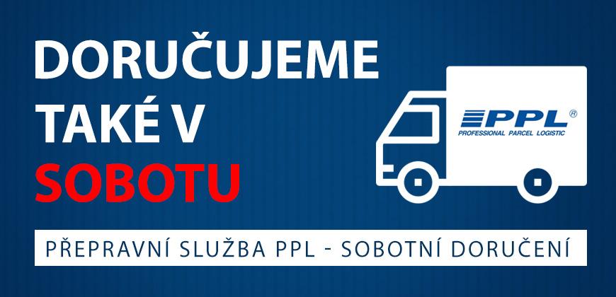 Přepravní služba PPL - SOBOTNÍ doručení