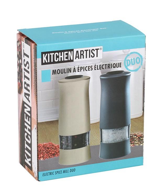 Elektrický mlýnek na sůl a pepř MEN330GB