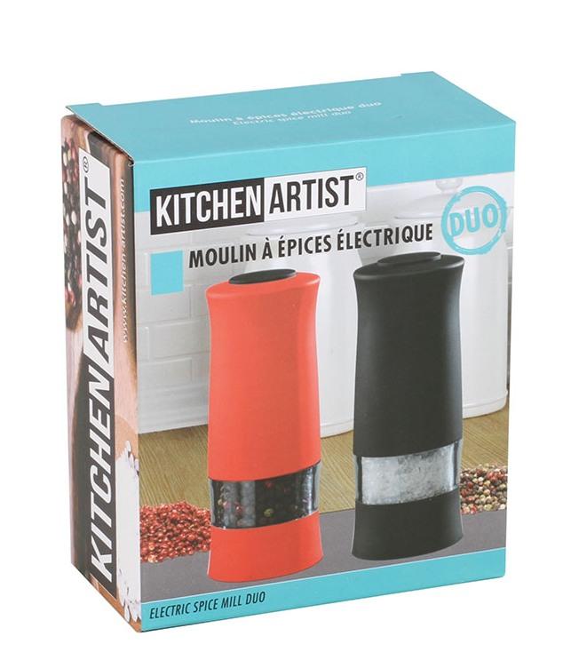 Sada dvou elektrických mlýnků Domoclip MEN330RN