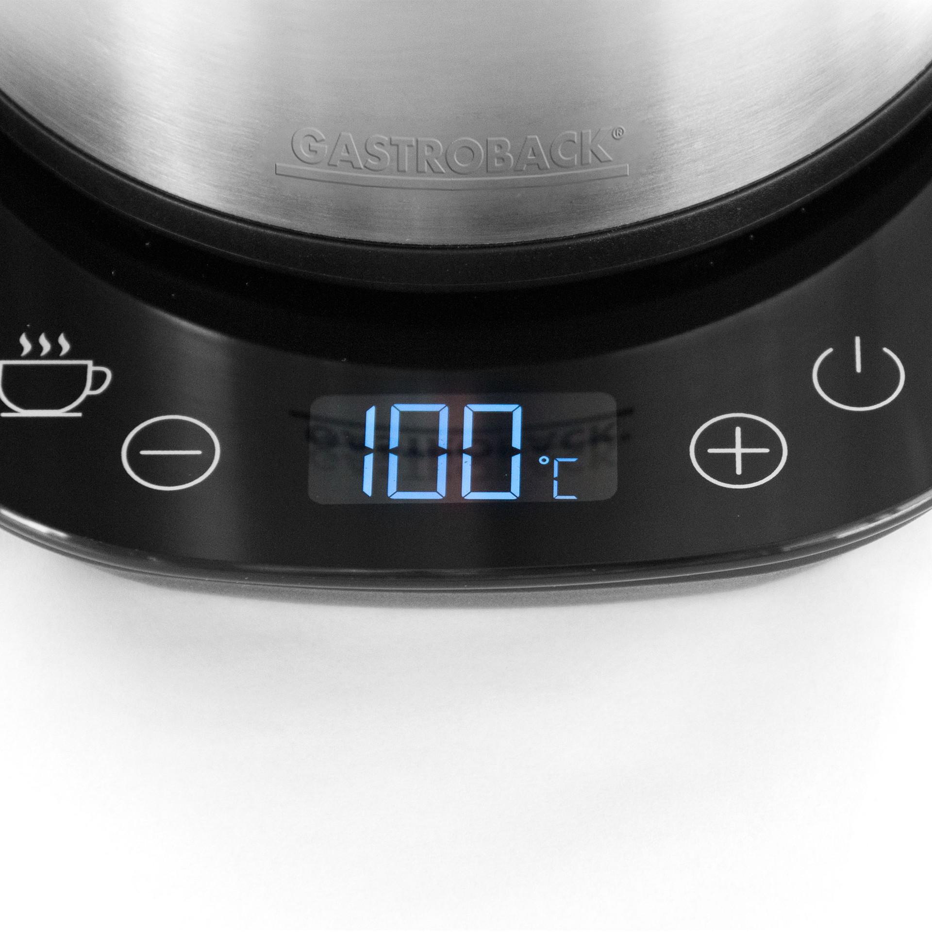 Rychlovarná termo konvice Gastroback 42426 s objemem 1.7l