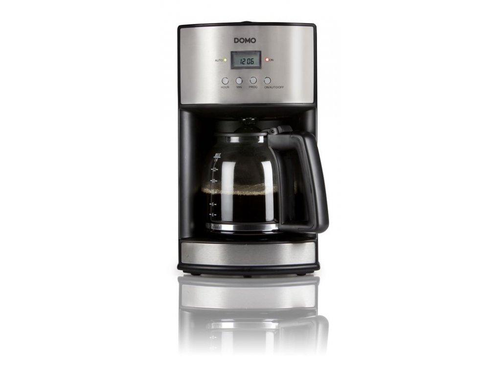 Kávovar s časovačem - dTest - DOMO DO473K, 1,8l, s časovačem