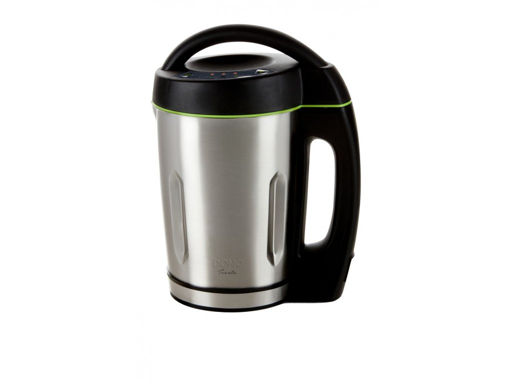Automatický polévkovar - DOMO DO498BL, Objem: 1,6 l, 3 programy, Příkon: 1000W