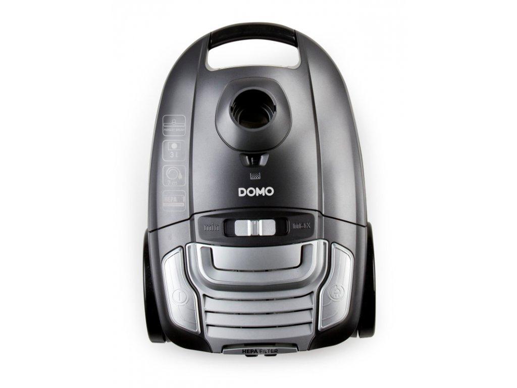 Sáčkový vysavač - tichý - DOMO DO7285S, příkon: 700 W
