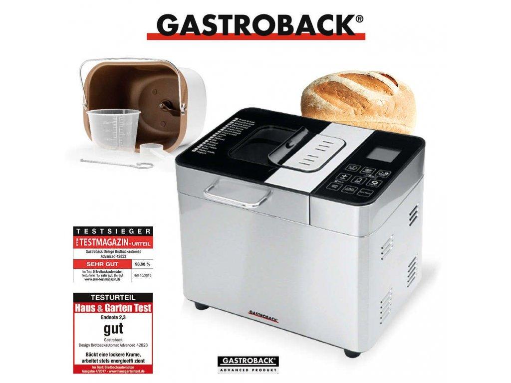 Domácí pekárna Gastroback 42823