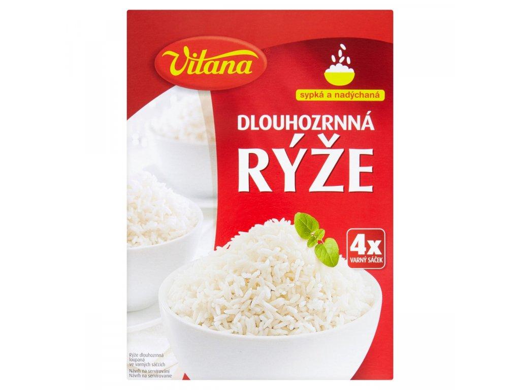 Rýže dlouhozrnná Vitana 7x400g