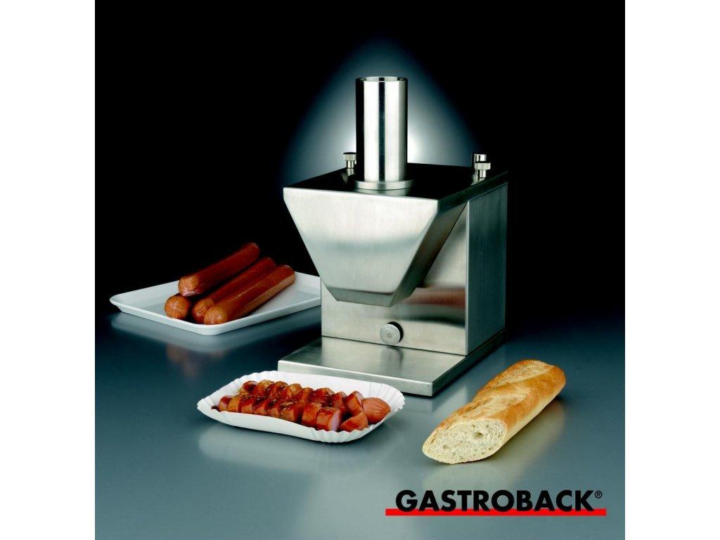 Elektrický kráječ uzenin Gastroback 41404