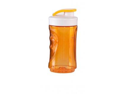 Malá láhev smoothie mixérů DOMO - oranžová, 300 ml