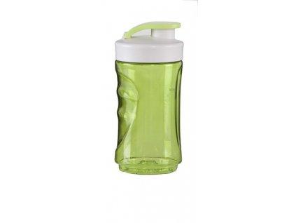 Malá láhev smoothie mixérů DOMO - zelená, 300 ml